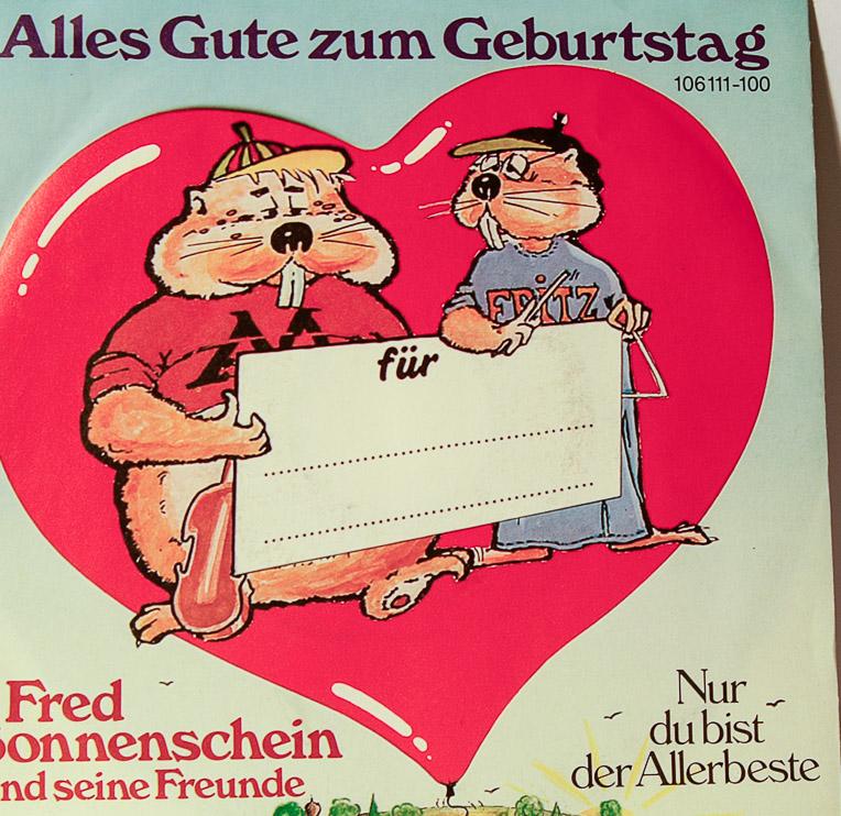 "... HERR SCHÖN DOOF BLEIBT DOOF DER FAHRSCHRECK -7"" SINGLES (G80) | eBay"