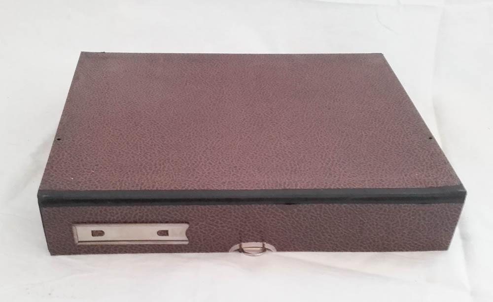 sch ne a4 auszugbox archivbox vintage sammelbox pappe. Black Bedroom Furniture Sets. Home Design Ideas