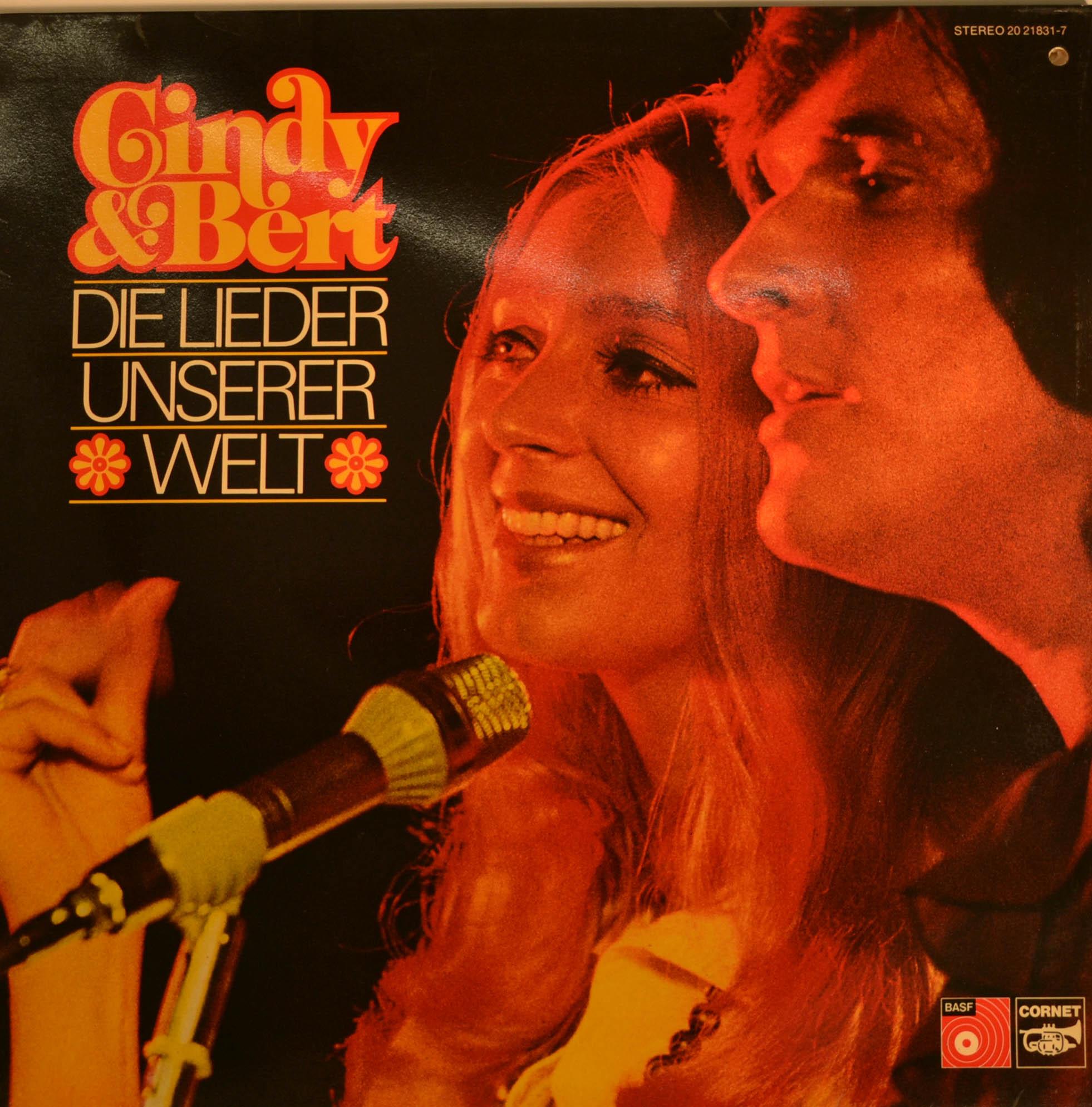 Cindy Amp Bert Die Lieder Unserer Welt 12 Quot Lp 618 Ebay