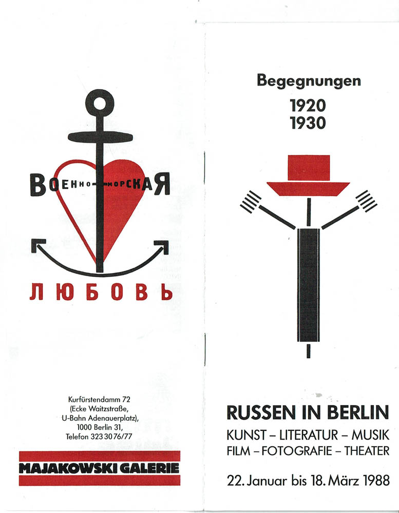 begegnungen 1920 1930 russen in berlin 1988 berlin agk979 ebay. Black Bedroom Furniture Sets. Home Design Ideas