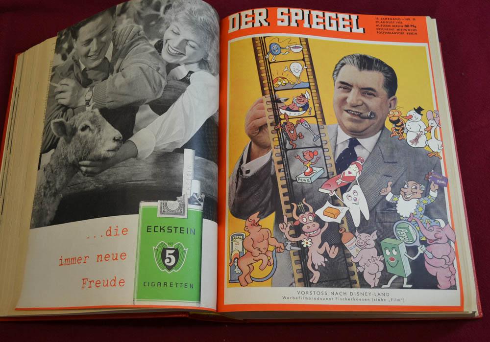 Der spiegel 1956 nr 27 52 heft 50 mit elvis presley for Spiegel heft